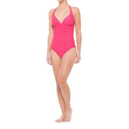 prAna Lahari One-Piece Swimsuit - UPF 50 (For Women) in Cosmo Pink - Closeouts