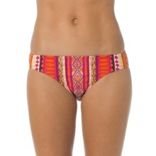 prAna Lani Bikini Bottoms - UPF 50+ (For Women) in Fuchsia Tribe - Closeouts