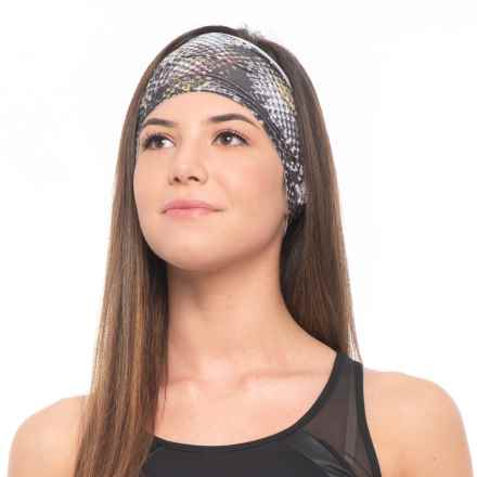 prAna Large Headband (For Women) in Black Digi Flower - Closeouts