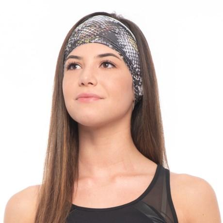 prAna Large Headband (For Women) in Black Digi Flower