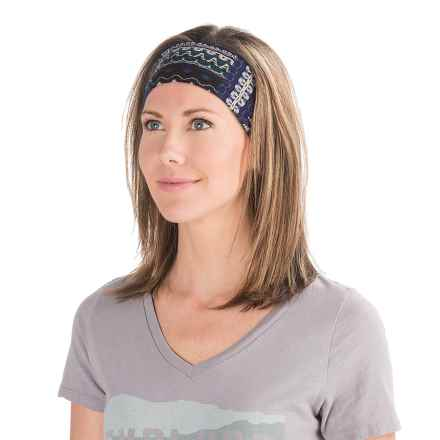 prAna Large Headband (For Women) in Bluebell Fossil - Closeouts