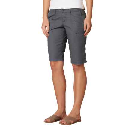prAna Larissa Knicker Shorts - Low Rise (For Women) in Coal - Closeouts