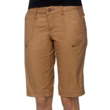 prAna Larissa Knicker Shorts - Low Rise (For Women) in Desert Khaki - Closeouts