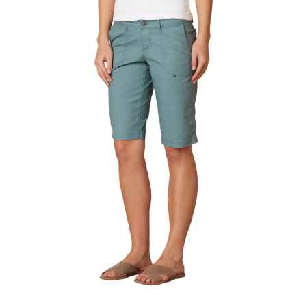 prAna Larissa Knicker Shorts - Low Rise (For Women) in Smoky Blue - Closeouts