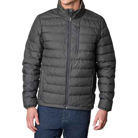 prAna Lasser Down Jacket - 650 Fill Power (For Men) in Charcoal - Closeouts