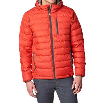 prAna Lasser Down Jacket - 650 Fill Power (For Men) in Fireball - Closeouts