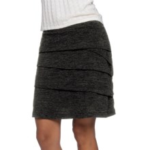 prAna Leah Tiered Skirt (For Women) in Black - Closeouts
