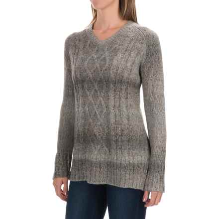 prAna Leisel Sweater (For Women) in Gravel - Closeouts