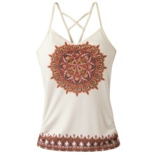 prAna Leyla Tank Top - Built-In Shelf Bra (For Women) in Winter Medallion - Closeouts