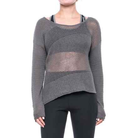 prAna Liana Sweater (For Women) in Moonrock - Closeouts