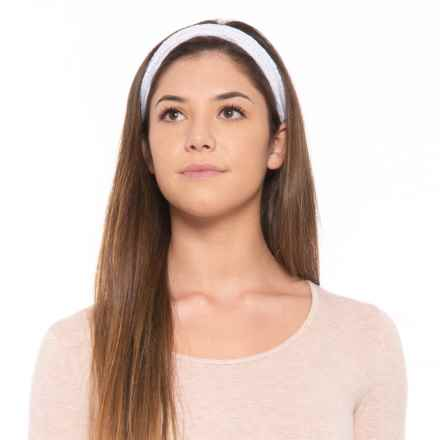prAna Lila Headband (For Women) in White - Closeouts