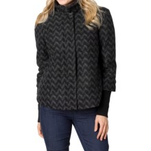 prAna Lily Jacket - Insulated, Wool Blend (For Women) in Black - Closeouts