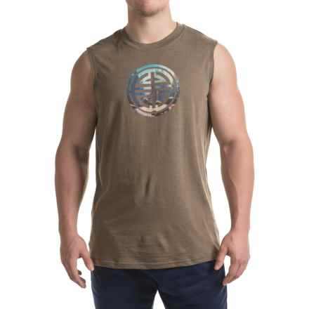 prAna Long Life Shirt - Organic Cotton, Sleeveless (For Men) in Mud - Closeouts