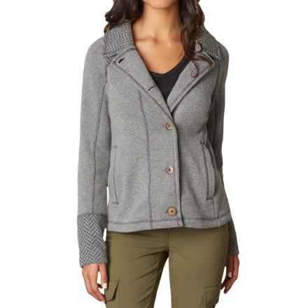 prAna Lucia Jacket (For Women) in Black - Closeouts