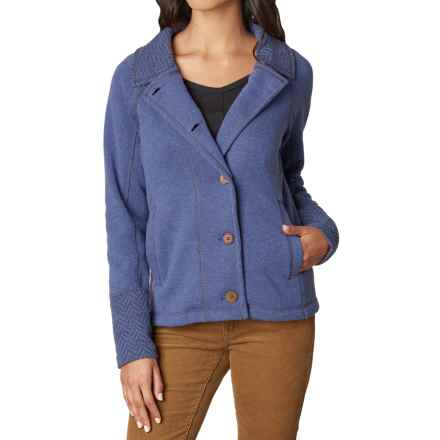 prAna Lucia Jacket (For Women) in Bluebell - Closeouts