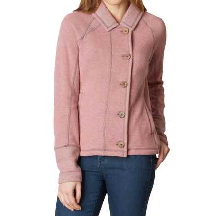 prAna Lucia Jacket (For Women) in Light Mauve - Closeouts