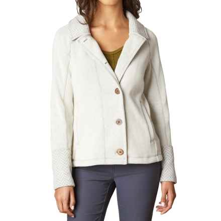 prAna Lucia Jacket (For Women) in Natural - Closeouts