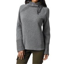 prAna Lucia Sweater (For Women) in Black - Closeouts