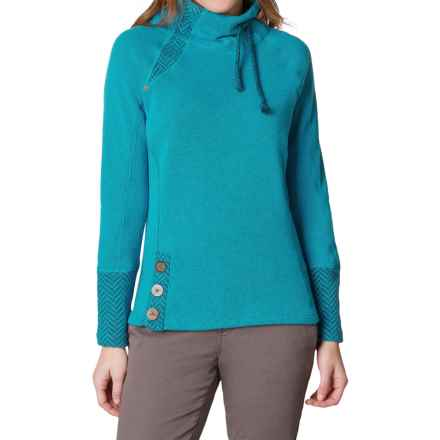 prAna Lucia Sweater (For Women) in Harbor Blue - Closeouts