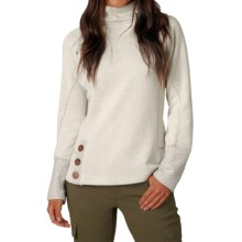 prAna Lucia Sweater (For Women) in Natural - Closeouts