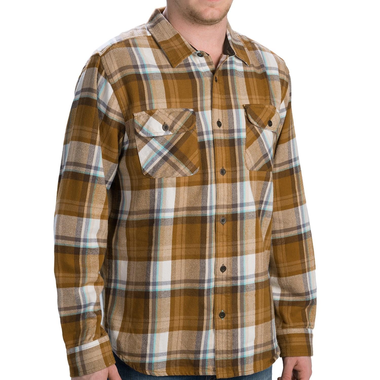prana lybeck flannel shirt for men 9157n save 61