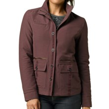 prAna Lydia Jacket - Stretch Nylon, Insulated (For Women) in Thistle - Closeouts