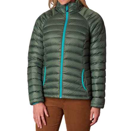 prAna Lyra Down Jacket - 700 Fill Power (For Women) in Cargo A Lot A Dots - Closeouts