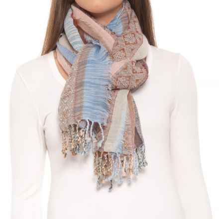 prAna Mae Scarf - Wool (For Women) in Aspen Blue - Closeouts