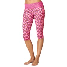 prAna Maison Knicker Capris (For Women) in Azalea Guava - Closeouts