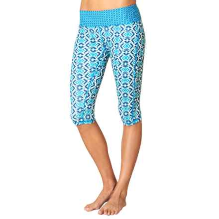 prAna Maison Knicker Capris (For Women) in Blue Guava - Closeouts