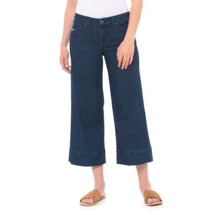 prAna Majan Culotte Pants - Organic Cotton (For Women) in Indigo - Closeouts