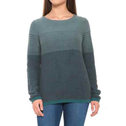 prAna Mallorey Sweater - Organic Cotton (For Women) in Deep Balsam - Closeouts