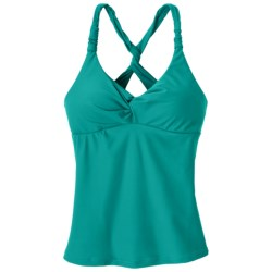 prAna Manori Tankini Top - UPF 30+ (For Women) in Dragonfly