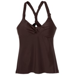 prAna Manori Tankini Top - UPF 30+ (For Women) in Espresso