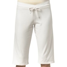 prAna Mara Crossover Waist Knickers - Chakara (For Women) in White - Closeouts