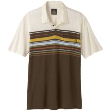 prAna Marco Polo Shirt -  Slub Organic Cotton, Short Sleeve (For Men) in Epresso - Closeouts