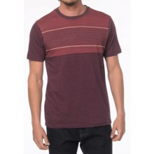 prAna Marco Shirt - Organic Cotton, Short Sleeve (For Men) in Dark Plum - Closeouts