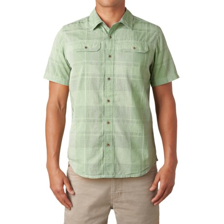 Nice shirt runs small review of prana marvin shirt for Nice mens button up shirts