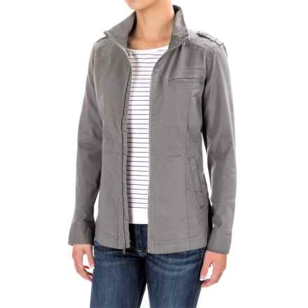 prAna Mayve Jacket - Organic Cotton (For Women) in Gravel - Closeouts
