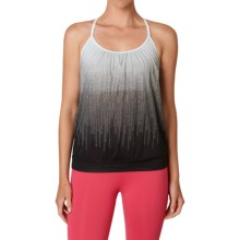 prAna Meadow Tank Top (For Women) in Black Cascade - Closeouts