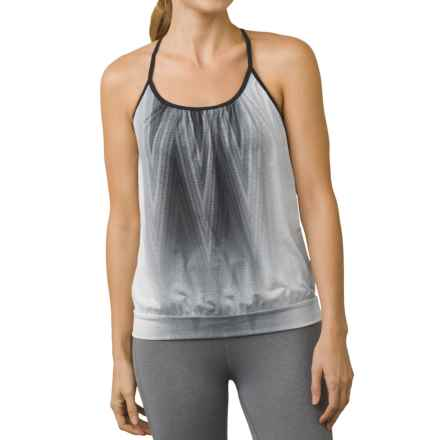 prAna Meadow Tank Top (For Women) in Charcoal Aurora - Closeouts