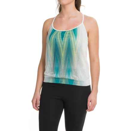 prAna Meadow Tank Top (For Women) in Dragonfly Aurora - Closeouts