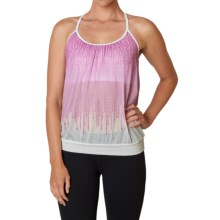 prAna Meadow Tank Top (For Women) in Orchid Cascade - Closeouts
