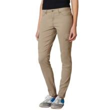 prAna Meme Pants (For Women) in Dark Khaki - Closeouts