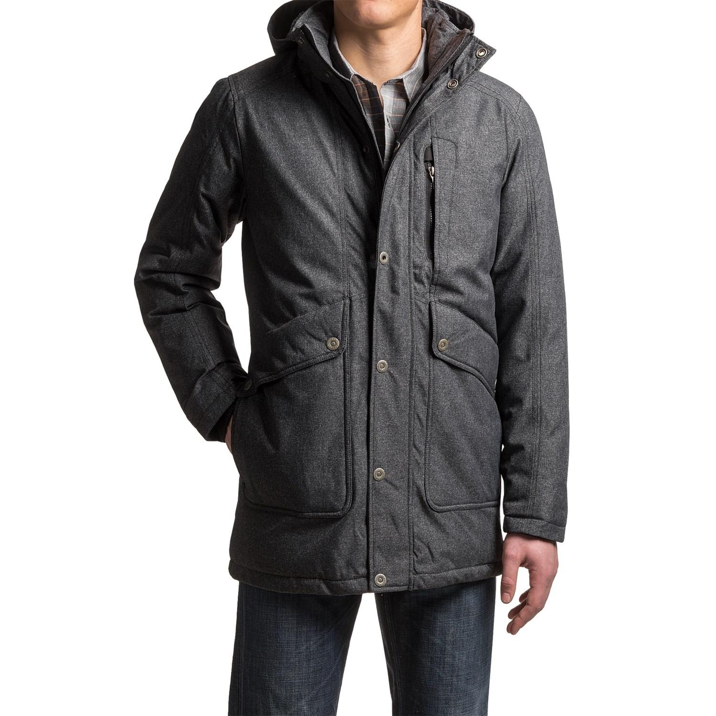 prana merced down jacket