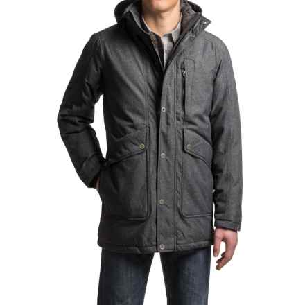 prAna Merced Down Jacket - 650 Fill Power (For Men) in Black Heather - Closeouts