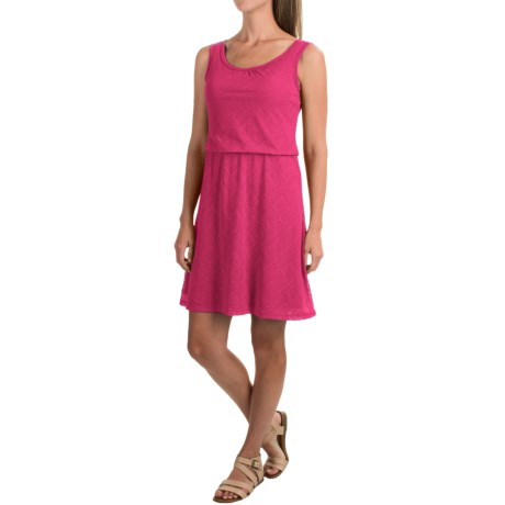 prAna Mika Tank Dress - Sleeveless (For Women) in Cosmo Pink Copa