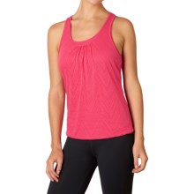 prAna Mika Tank Top - Scoop Neck, Racerback (For Women) in Azalea - Closeouts