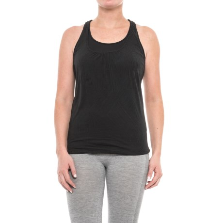 prAna Mika Tank Top - Scoop Neck, Racerback (For Women) in Black Copa