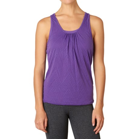 prAna Mika Tank Top - Scoop Neck, Racerback (For Women) in Ultra Violet